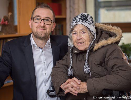 Altenpflege in Bewegung