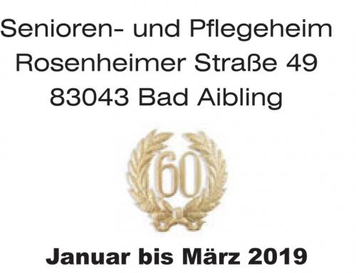 Heimzeitung Haus Wittelsbach Januar bis März 2019
